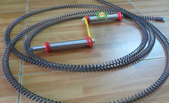 Tất cả về dây thông cống lò xo thông tắc đường ống hiệu quả