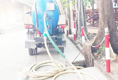 Quy trình thông cống nghẹt xã Long Tân, xã Phước Hội huyện Đất Đỏ BRVT